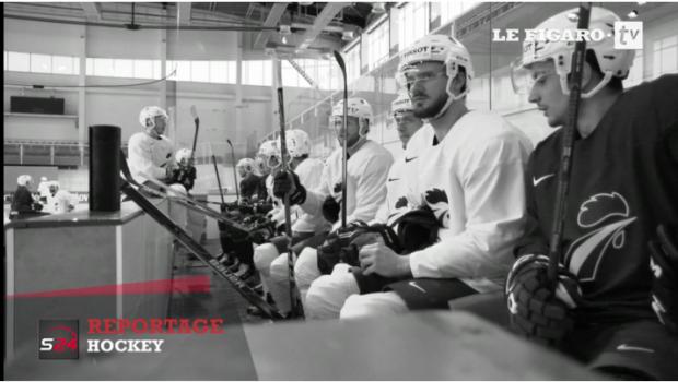 Reportage Hockey Le Figaro TV